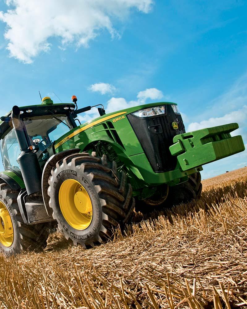 JOHN DEERE Gamme matériel Agricole