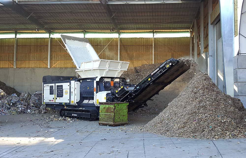 TEREX Broyeur Gamme Environnement Recyclage